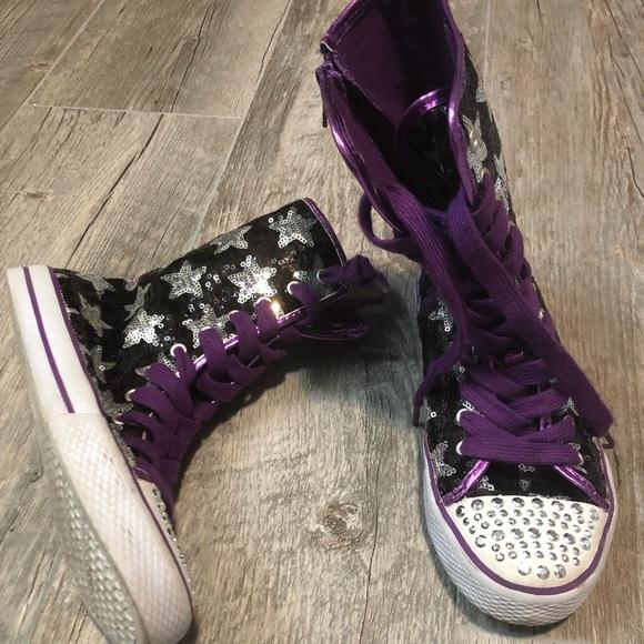 Children's Place Other - Children's Place Sparkle Shoe Boots Size 4
